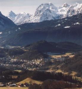 Berchtesgaden Valley, Barvaria, Germany.
